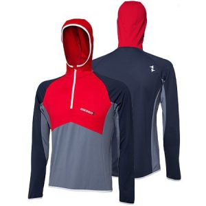 TRANSITION Hoody unisex red